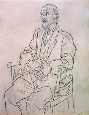 Satie, pintado por Picasso