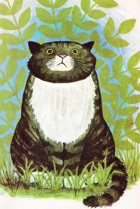 """Ilustración de """"Mog el gato olvidadizo"""""""