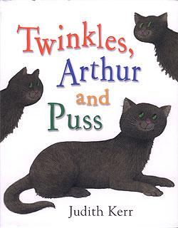 Twinkles, Arthur y Puss ( portada del libro)