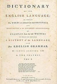 El diccionario del Dr. Johnson