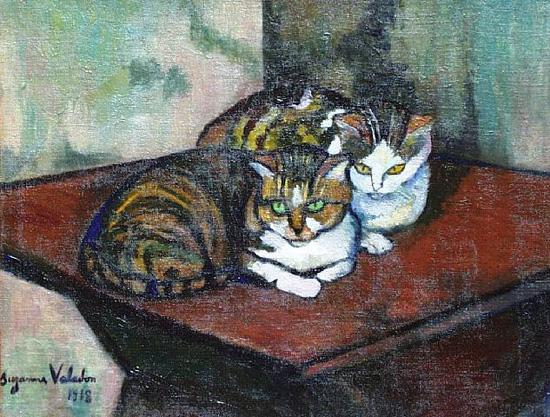 """""""Dos gatos"""" (1918)"""