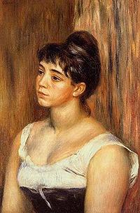 Suzanne Valadon, por Pierrre-Auguste Renoir