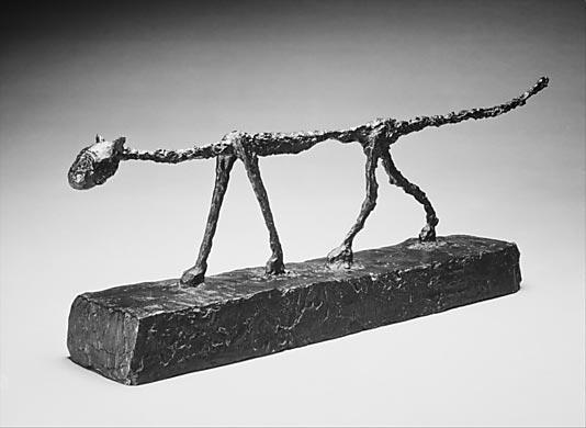 Alberto Giacometti (El gato)