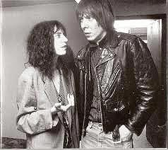 Patti Smith y Fred Sonic Smith