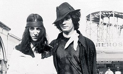 Patti Smnith y Robert Mapplethorpe (1969)