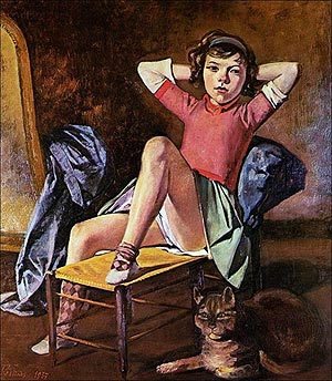 NIña con gato (1937)
