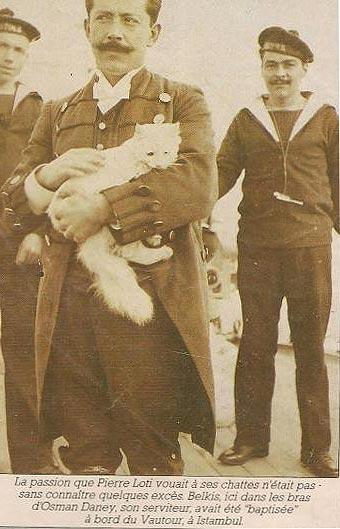 Belkis en brazos de Osman Daney, el criado de Loti