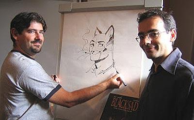 Juan Díaz Canales (izquierda) y Juanjo Guarrido (derecha)
