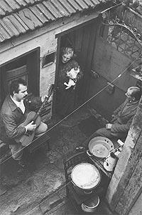 Brassens, Jeanne, Marcel y un gato