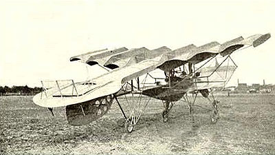 Avión experimental diseñado por Moisant (1909)