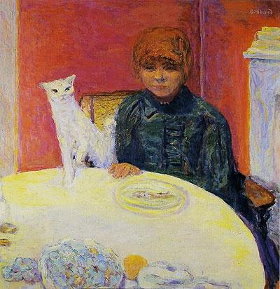 Mujer con gato (1912)