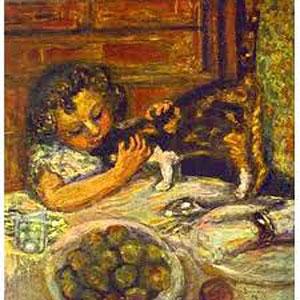 Niña con gato (1899)