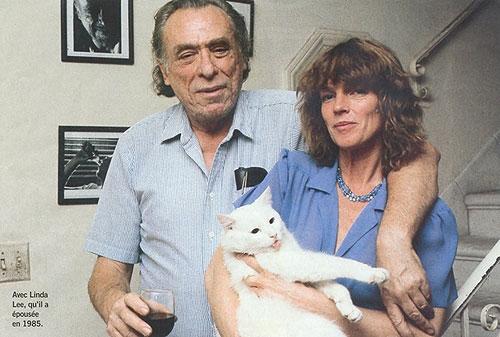 Con Linda Lee, su mujer desde 1985