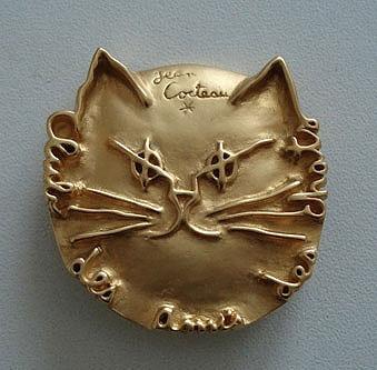 Insignia del Club de los amigos de los gatos
