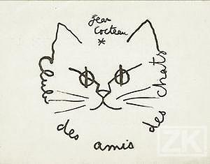 Dibujo de Cocteau