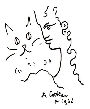 Gato y figura