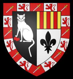 Blasón familia Muyser-Lantwyck, condado de Brabant, Bélgica