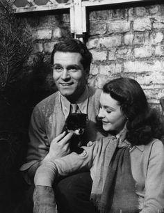 Vivien Leigh, Laurence Olivier y Tissy