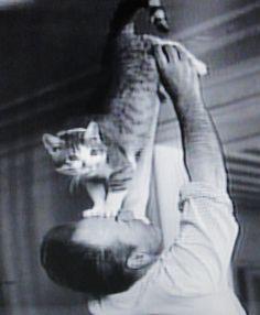 George Balanchin entrenando a Mourka
