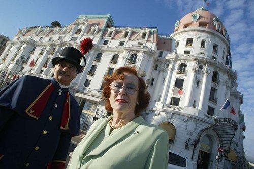 Jeanne Augier y el portero del Negresco