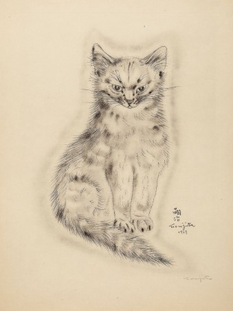 Un libro de gatos de Théophile Alexandre Steinlen (1930)