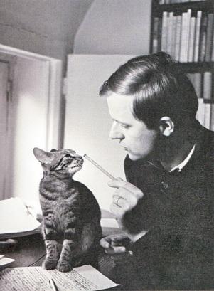 El autor con Nessie