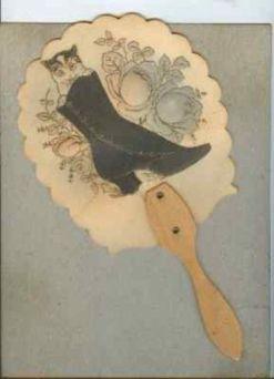 Abanico de papel victoriano (Starkey y Scowden)