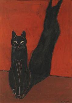 El gato y su sombra