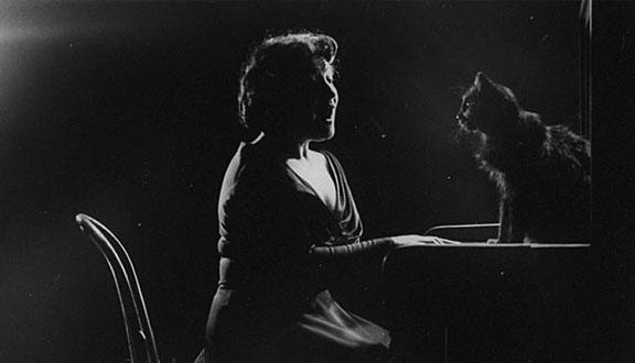 Blackie con la soprano francesa Jennie Tourel