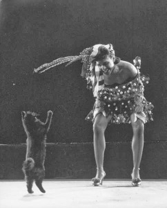 Blackie y la bailarina Katherine Dunham