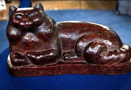 Gato de ébano-(1930)
