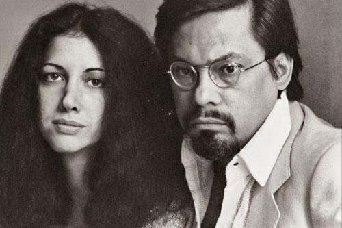 Miriam Gómez y Guillermo Cabrera Infante