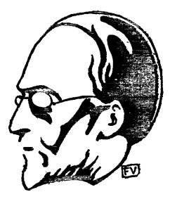 Caricatura por Félix Valloton