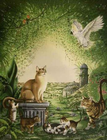 El bosque de los gatos