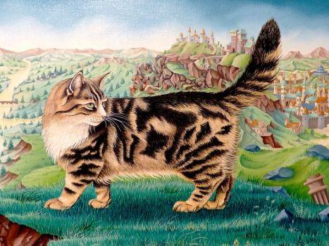 El gato de Abel Grimmer (primer plano)