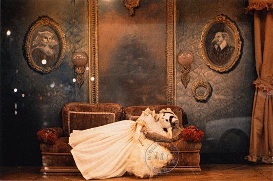 Penas de amor de una gata inglesa en el teatro