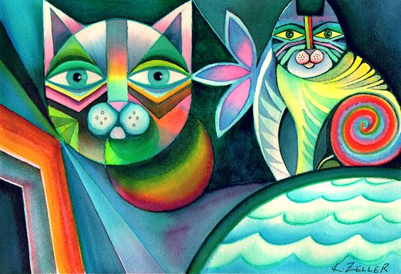 Gato geométricos
