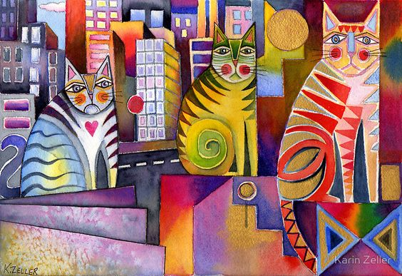 Gatos de ciudad