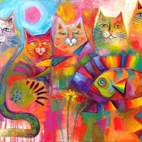 Gatos y peces