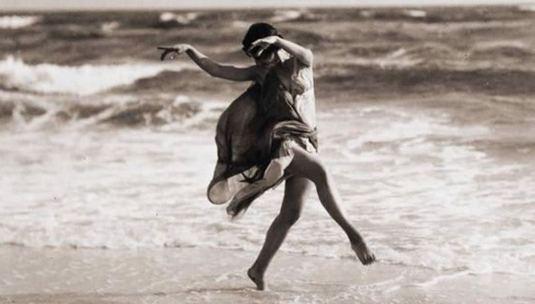 Isadora Duncan, fotografiada por Arnold Genthe