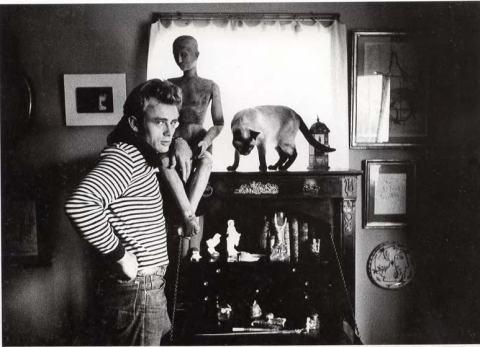 James Dean en casa de los Roth