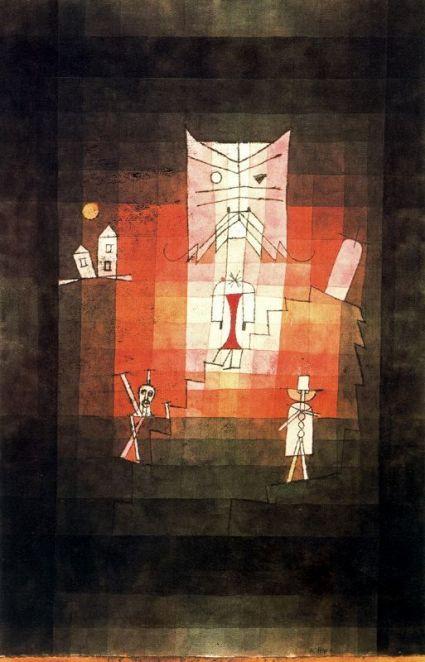 La montaña del gato sagrado (1923) 1
