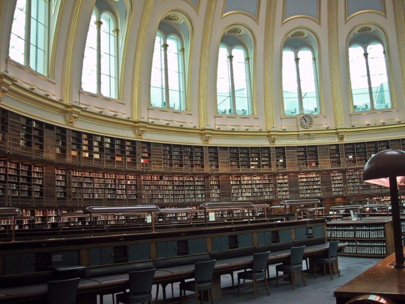 La sala de lecturas que tanto gustaba a Black Jack