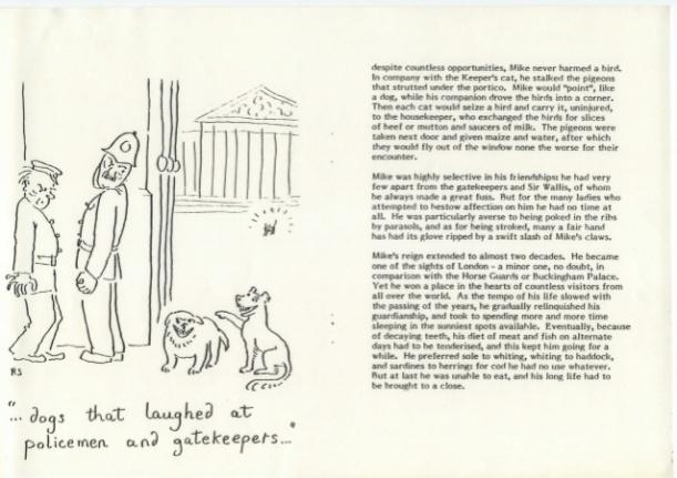 Los perros que se burlan de los policías y de los porteros