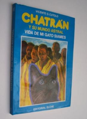 Portada de Chatrán y su mundo astral, de Vicente O. Cutolo