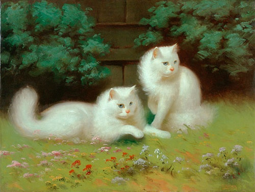 arthur-heyer-Two-Cats