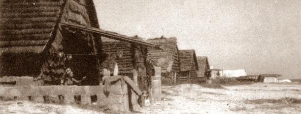 Las antiguas cabañas de junco de Su Pallosu