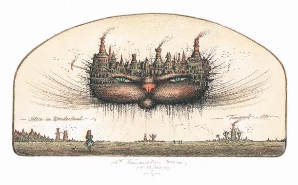 El gato de Cheshire (de Sergey Tyukanov 1994)