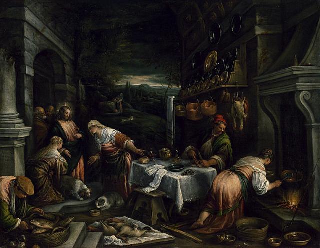 La casa de María, Marta y Lázaro