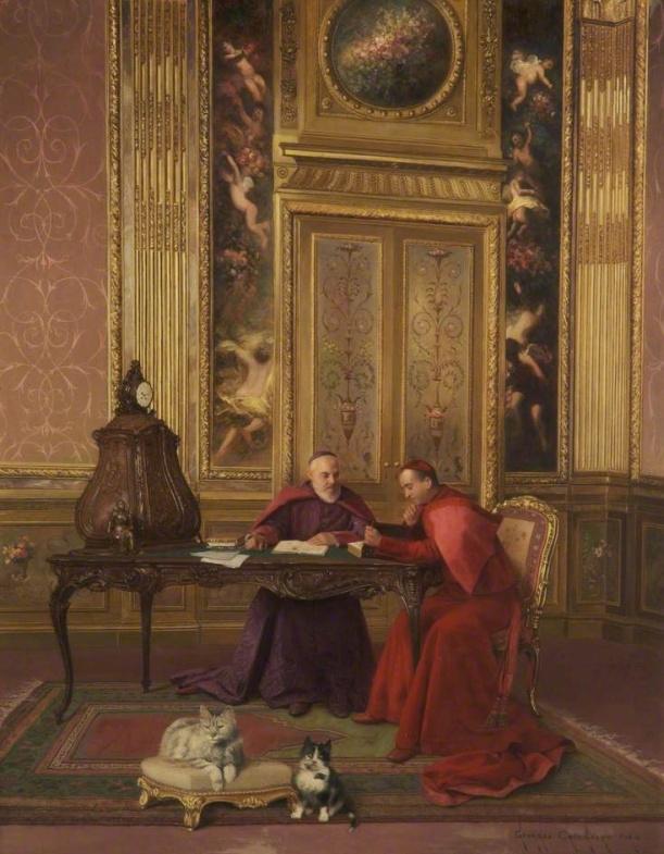 Dos cardenales